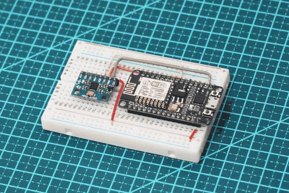 Acelerômetro com ESP8266 NodeMCU