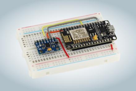 Como usar acelerômetro com ESP8266 NodeMCU