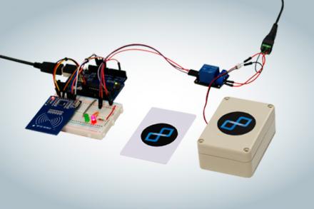 Acionando uma trava elétrica com RFID