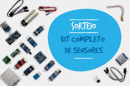 Concorra a um Kit completo de Sensores
