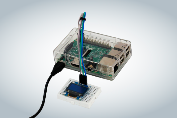 Display OLED com Raspberry Pi