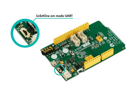 Linkit One modo UART