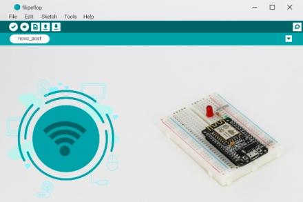 Programação do ESP8266 via OTA com wifi