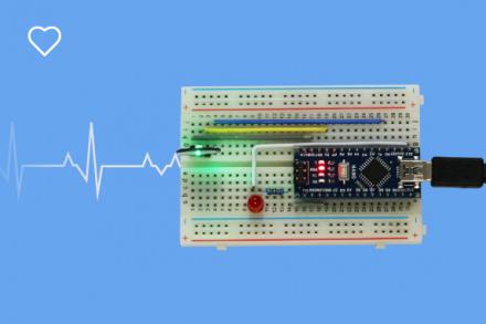 Aprenda a usar o Sensor de frequência cardíaca
