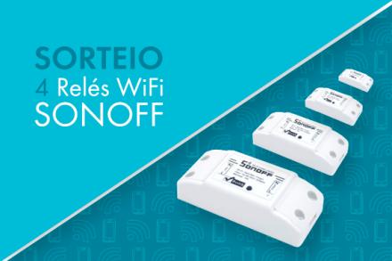 Concorra a 4 Relés WiFi Sonoff